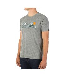 Moosejaw - Gray Two Tickets To Paradise Vintage Slim Ss Tee for Men - Lyst