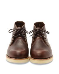 Red Wing - Brown Red Wing Heritage 3141 Work Chukka for Men - Lyst