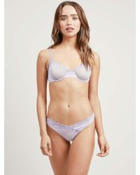 Morgan Lane | Purple Lauren Panty In Lilac Petunia | Lyst