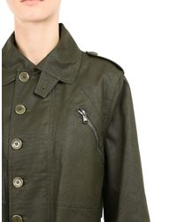 Moschino Green Full-length Jacket