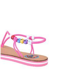 Love Moschino Pink Sandals