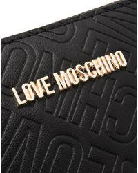 Love Moschino Black Wallets