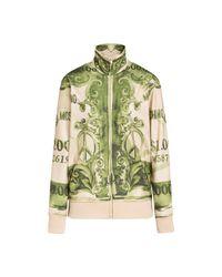Moschino Natural Technisches Sweatshirt Watercolor Money