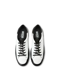 Moschino White Sneakers for men