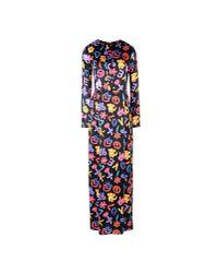 Love Moschino Black Long Dress