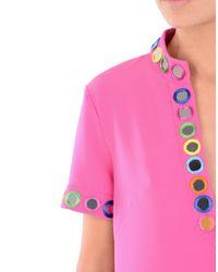 Moschino Purple Short Dress