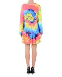 Moschino Yellow Short Dress