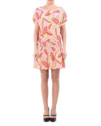 Boutique Moschino | Pink Minidress | Lyst