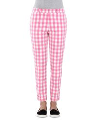 Love Moschino Pink Casual Pants