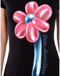 Love Moschino Black Short Sleeve T-shirts