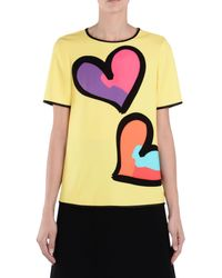Boutique Moschino Yellow Blouse