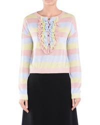 Boutique Moschino Multicolor Long Sleeve Sweater