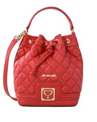 Love Moschino | Red Bucket Bag | Lyst