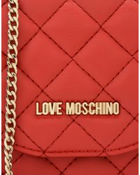 Love Moschino Red Handbag