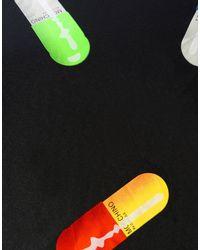 Moschino - Multicolor Pill Print Umbrella - Lyst