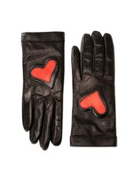 Boutique Moschino - Black Gloves - Lyst