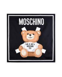 Moschino - Black Foulard - Lyst