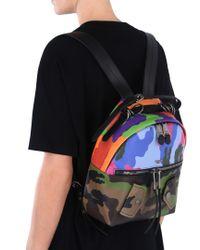 Moschino Blue Backpack