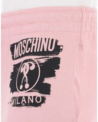 Moschino - Pink Casual Trouser - Lyst