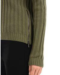 Moschino Green Long Sleeve Jumper