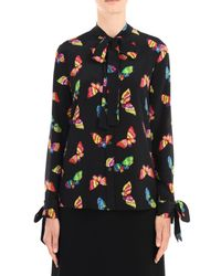 Boutique Moschino Black Long Sleeve Shirt