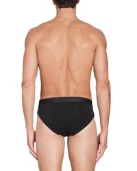 Set Di 2 Slip Con Logo di Moschino in Black da Uomo
