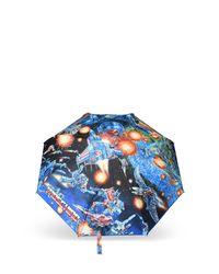 Moschino Black Mini Umbrella