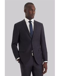 DKNY - Gray Slim Fit Slate Grey Suit for Men - Lyst