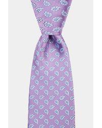 Moss Esq. Purple Lilac Mini Paisley Tie for men