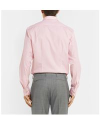 Paul Smith - Pink Soho Slim-fit Cotton-poplin Shirt for Men - Lyst