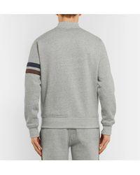 Kingsman Gray Todd Snyder Champion Harry's Fleece-back Cotton-blend Jersey Zip-up Sweatshirt for men