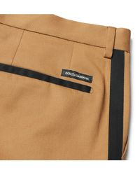 Dolce & Gabbana Natural Classic Chinos for men