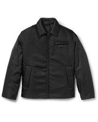 Prada Black Padded Gabardine Jacket for men