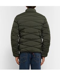 Orlebar Brown - Green Newland Quilted Stretch-nylon Down Jacket for Men - Lyst
