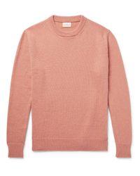 Simon Miller Pink Alpaca Sweater for men