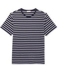 Sandro Blue T-shirt for men