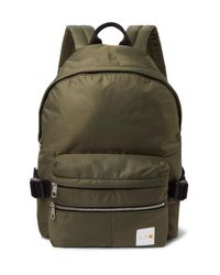 A.P.C. Green + Carhartt Wip Shell Backpack for men