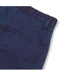 Blue Blue Japan Blue Skinny-fit Stretch-denim Jeans for men