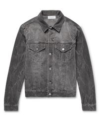 John Elliott Gray Thumper Slim-fit Cotton-blend Corduroy Jacket for men