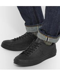Converse Black + Engineered Garments One Star Leather Sneakers for men
