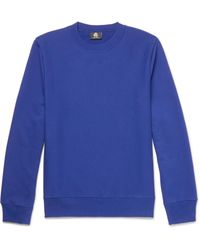 PS by Paul Smith - Blue Loopback Organic Cotton-jersey Sweatshirt for Men - Lyst