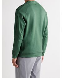 Adidas Originals Green Go-to Cotton-blend Jersey Golf Sweatshirt for men