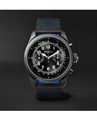 Montblanc Black Summit 42mm Titanium And Rubber Smart Watch, Ref. No. 119563 for men