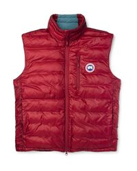 Canada Goose | Red Lodge Packable Quilted Shell Down Gilet for Men | Lyst