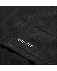 Nike Black Contour Dri-fit Mesh Tank for men