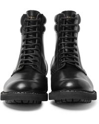 Givenchy - Black Tank Leather Boots for Men - Lyst