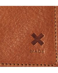 Best Made Company - Brown Full-grain Leather Bifold Cardholder for Men - Lyst
