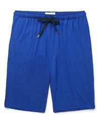 Derek Rose Blue Basel Stretch-micro Modal Jersey Shorts for men