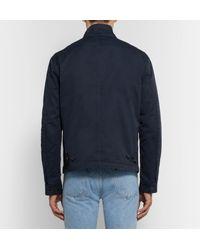 Polo Ralph Lauren Blue - Barracuta Slim-fit Cotton-twill Harrington Jacket - Navy for men