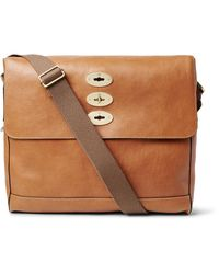 Mulberry | Brown Brynmore Leather Messenger Bag for Men | Lyst